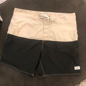 Modern Amusement Swim Trunks